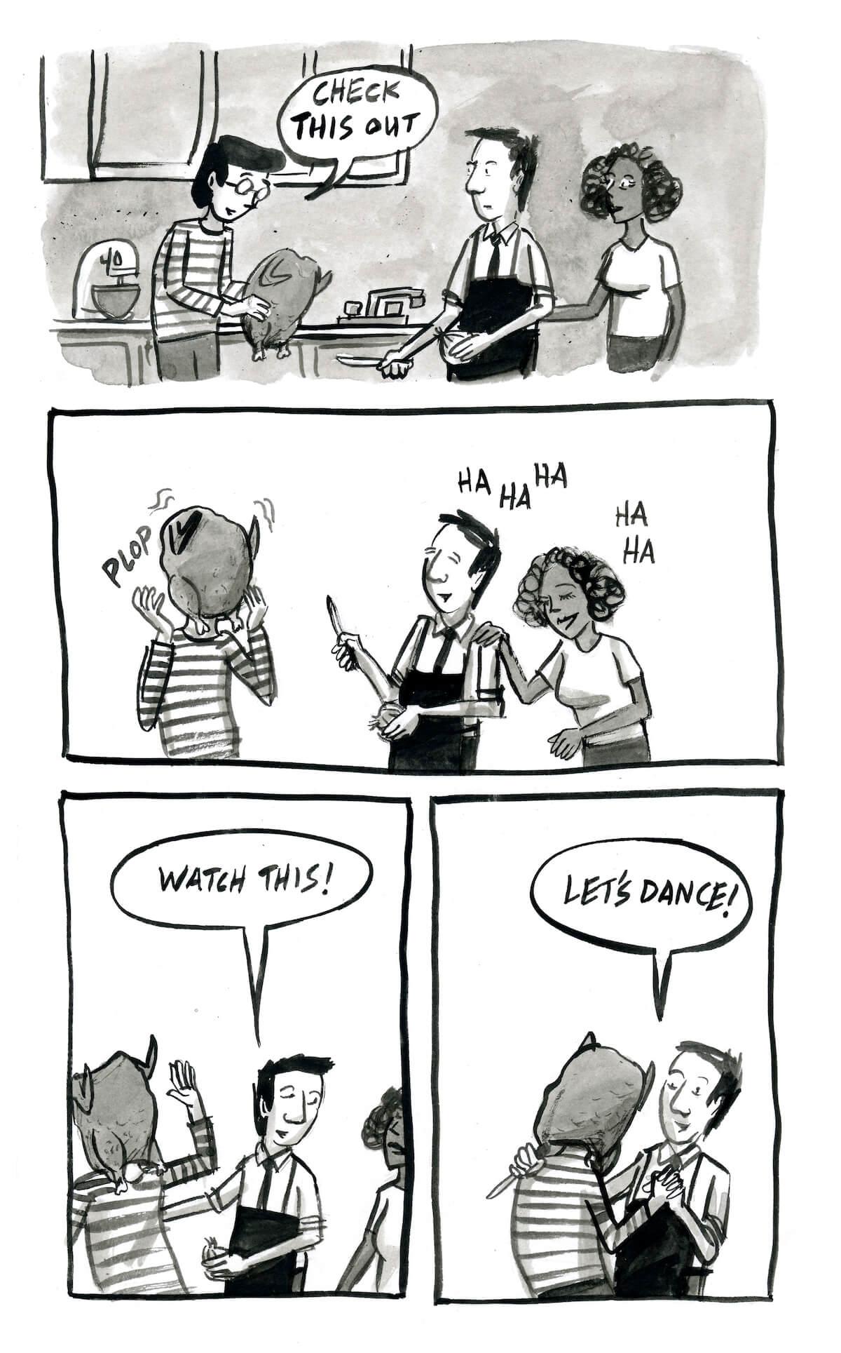 994b6bc183 Aaron Bagley's Dream Comics: Let's Dance